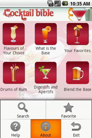 Cocktail Bible- screenshot