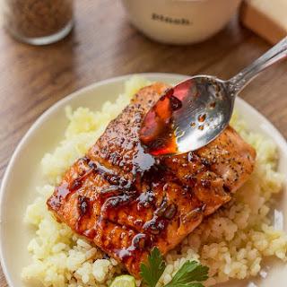 Garlic Ginger Glazed Salmon Recipe
