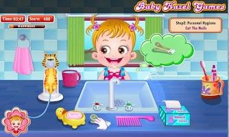 Screenshot of Baby Hazel Hygiene Care