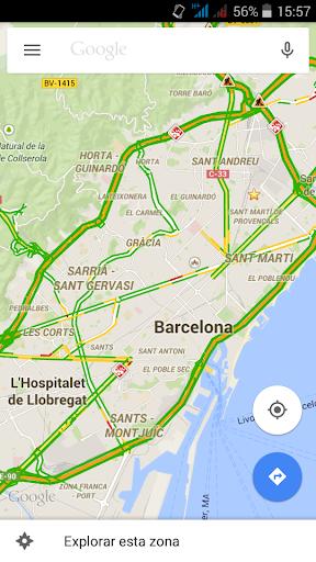 Tráfico de Barcelona