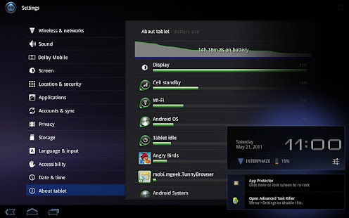 Acer Iconia Battery Saver - screenshot thumbnail