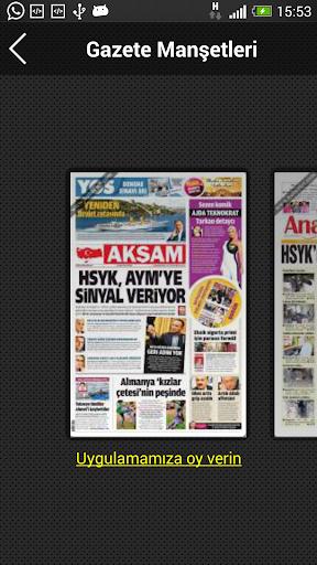Gazete Manşet