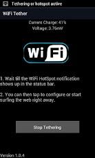 Wifi Hotspot/Tether
