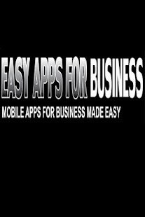 Easy Apps For Business - screenshot thumbnail
