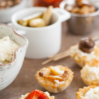 DIY Phyllo Cup Appetizer Bar.