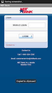 NBT Bank - screenshot thumbnail