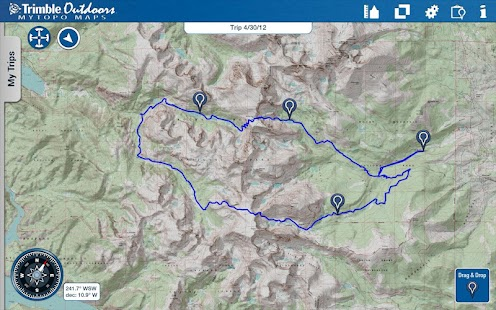 MyTopo Maps - Trimble Outdoors- screenshot thumbnail