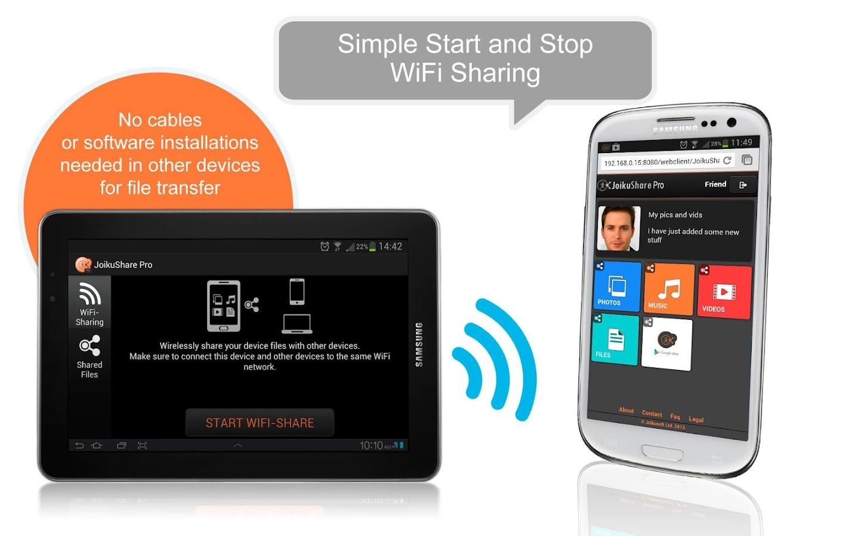 WiFi File Share PRO- screenshot