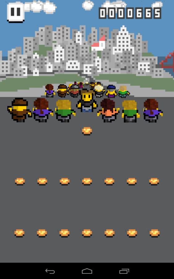 Ducking Hipster- screenshot