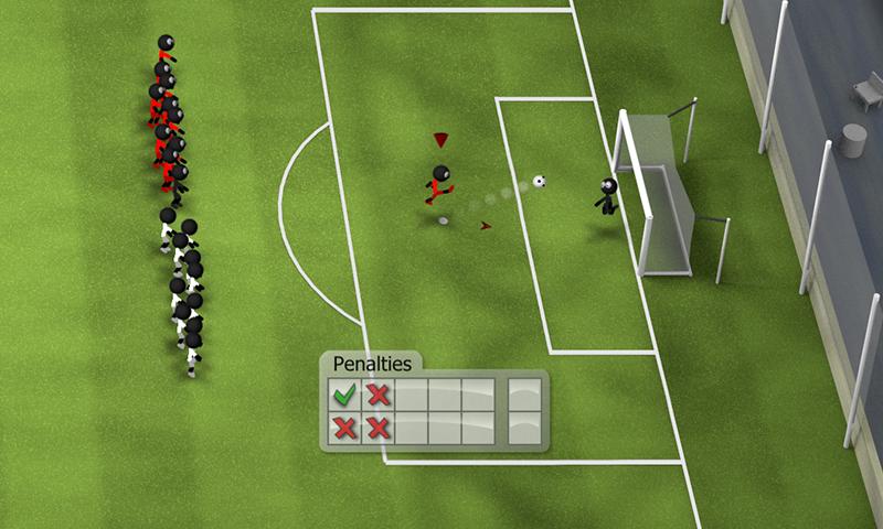 Stickman Soccer 2014 screenshot #9