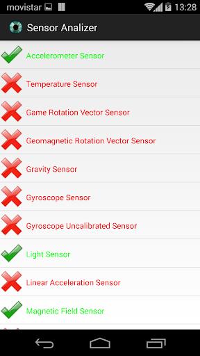 Sensor Analizer