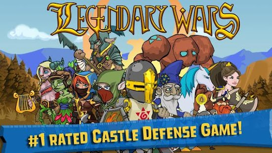 Legendary Wars- screenshot thumbnail