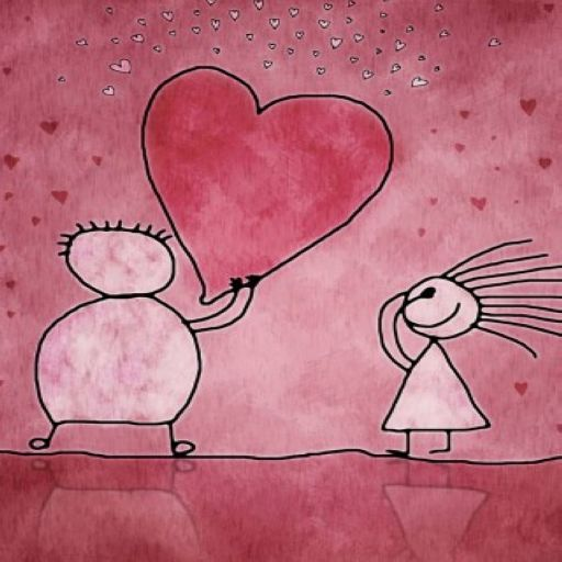 Sweet Love Theme Wallpaper