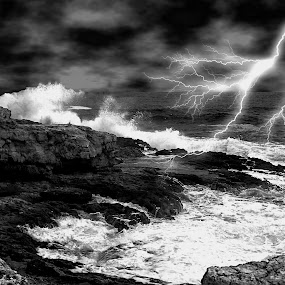 Tempest by Giovanni Bartolomeo - Landscapes Weather
