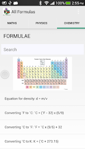 Free All Formulas APK for Android