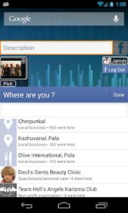 Facebook Status Update Widget - screenshot thumbnail
