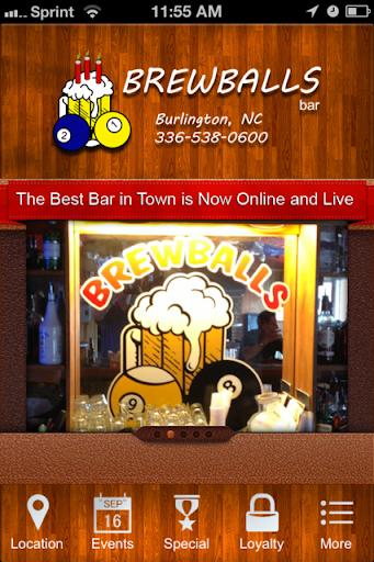 Brew Balls Bar