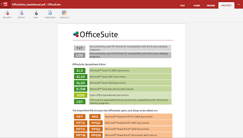 OfficeSuite 8 + PDF Converter Screenshot 4