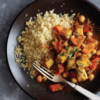 Moroccan Turnip and Chickpea Braise