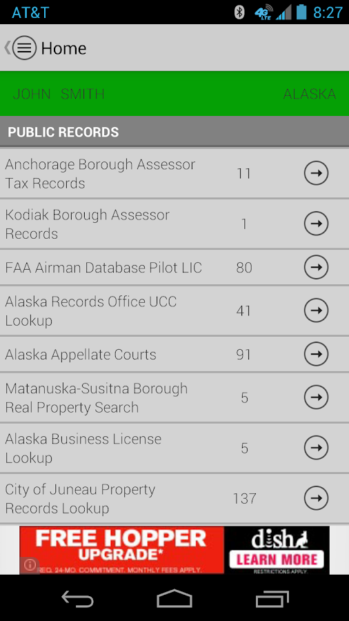 DirtSearch (Dirt Search) APP- screenshot
