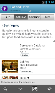 Barcelona Travel Guide Triposo - screenshot thumbnail