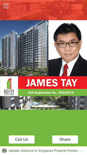 James Tay Real Estate Agent