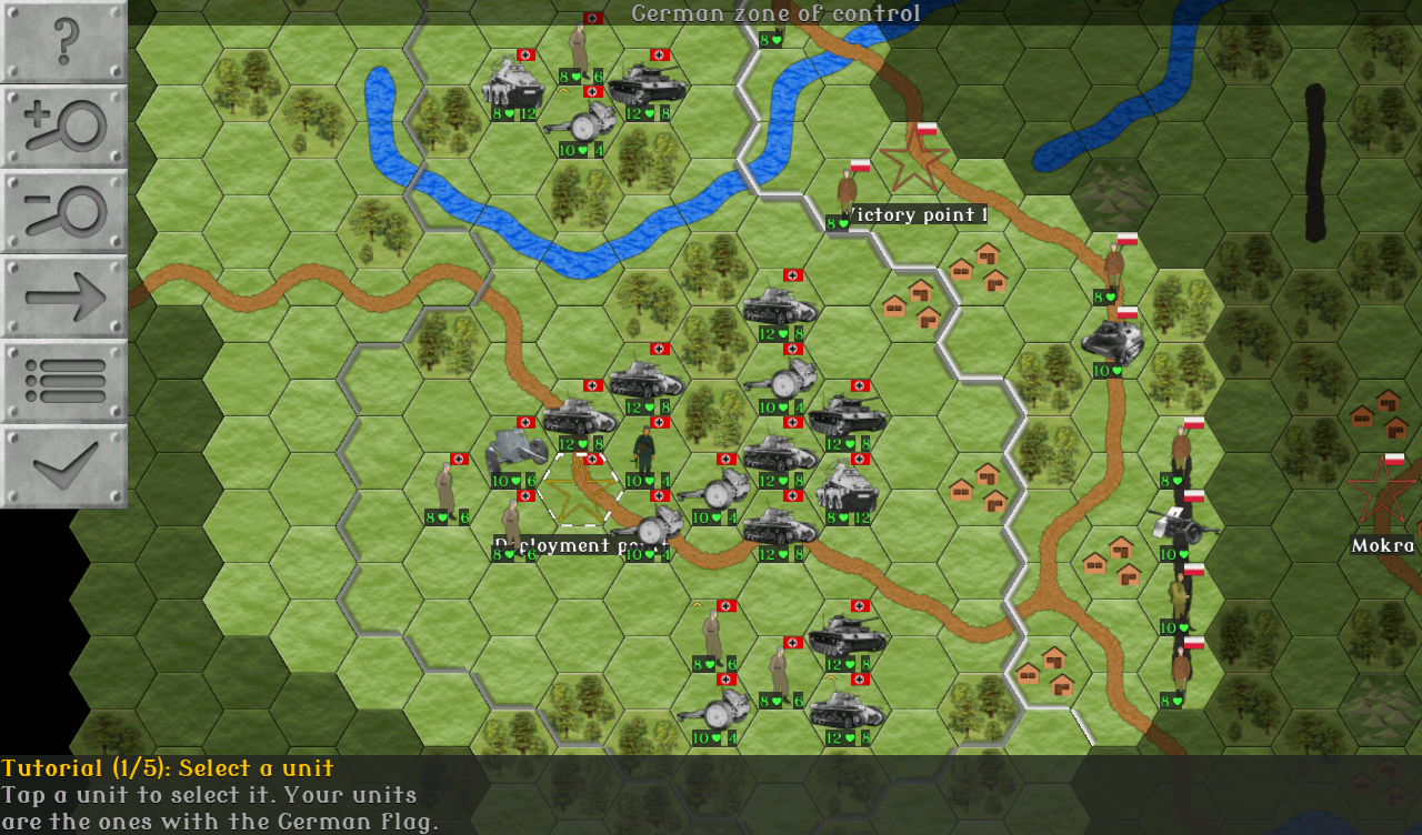 wargame how to play large maps
