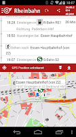 Screenshot of Rheinbahn