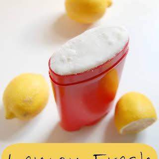 Lemon Fresh Deodorant.