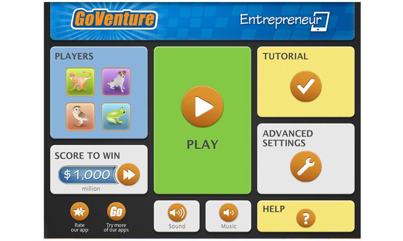 GoVenture Entrepreneur- screenshot
