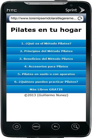 Pilates en tu Hogar