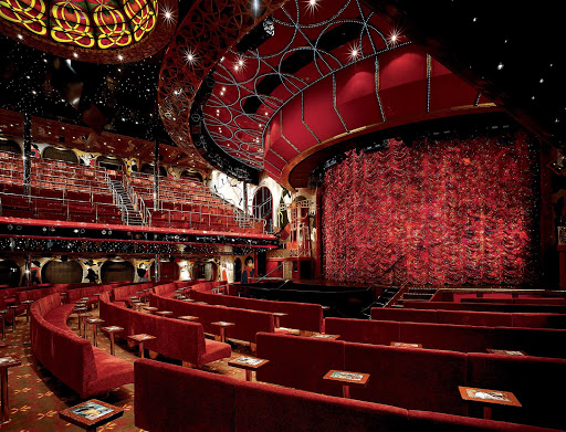 Carnival-Conquest-Toulouse-Lautrec-Lounge - When cruising on Carnival Conquest, be sure to take in one of the exciting Vegas-style shows at the Toulouse-Lautrec Lounge.