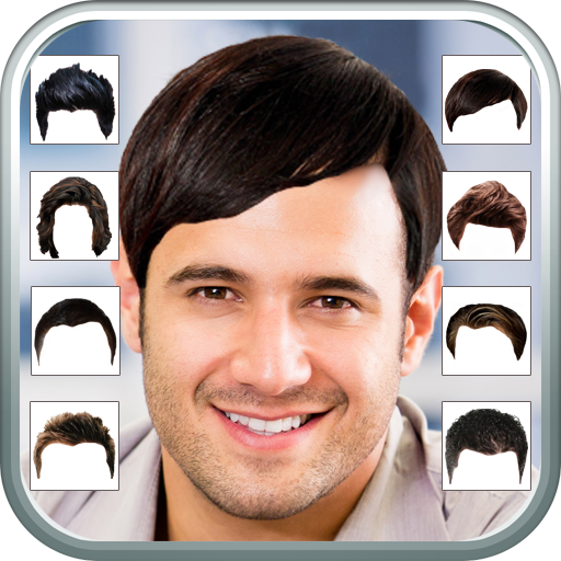 Man's Hair Changer 娛樂 App LOGO-APP試玩