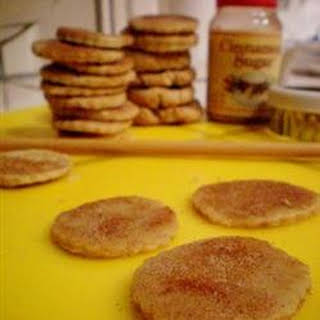 Cut-Out Cookies Made with Oat Flour.