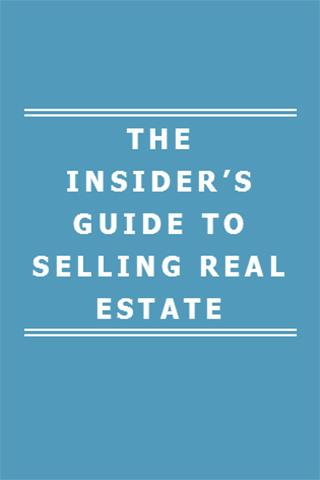 GUIDE TO SELLING REAL ESTATE