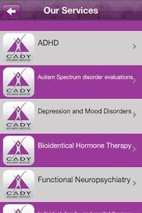 Cady Wellness Institute- screenshot thumbnail