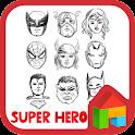 Hero simple face dodol theme