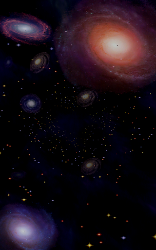 Intergalactic Music Visualizer
