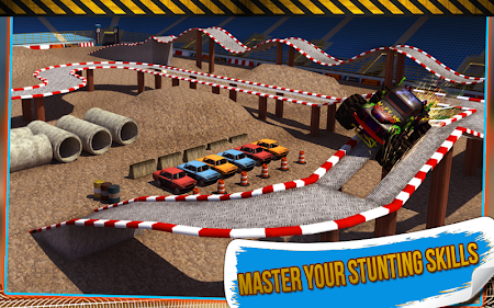 4x4 Monster Truck Stunts 3D 1.8 screenshot 641613