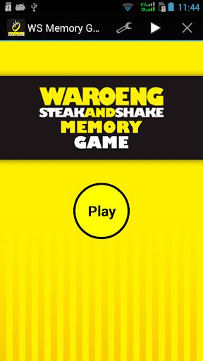 WaroengSteak Memory Game