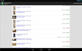 Screenshot of What's it worth on eBay?