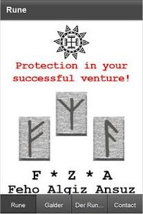 Runes Magic ProtectionTalisman