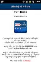 Screenshot of Radio VOH