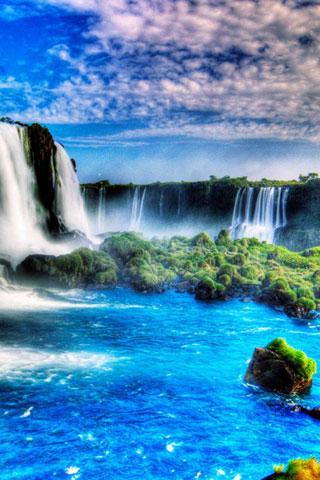 5D Waterfall Live Wallpapers - screenshot