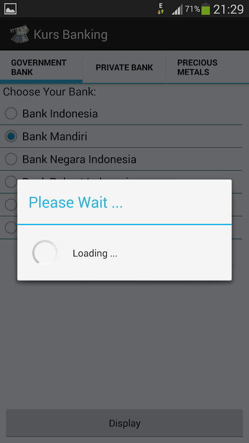 Exchange Indonesian Banking - screenshot