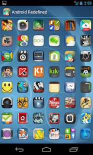 ELEGANCE APEX NOVA GO THEME Screenshot