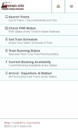 Indian Railways etrain.info