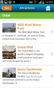 Dubai Guide, Hotels & Weather - screenshot thumbnail