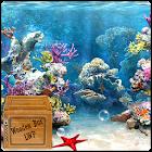 arrecife de coral bajo el agua icon