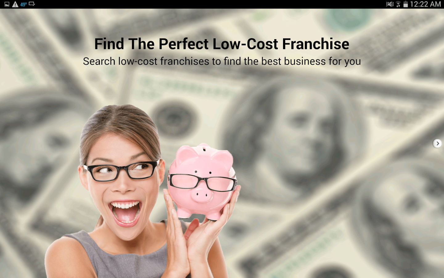 Low Cost Franchises- screenshot